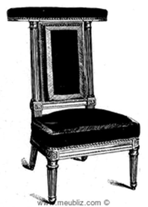 d 233 finition d une chaise meuble pour s asseoir