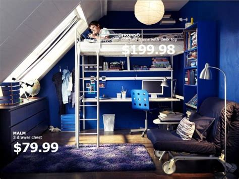 ikea teenage bedroom furniture 123 best images about space saving loft beds with style on
