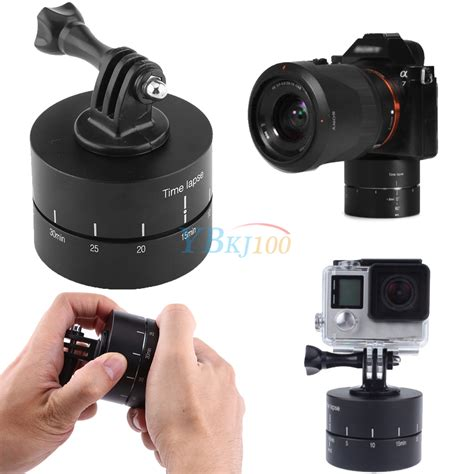 Adaptor Stabilizer 360 176 rotating panning time lapse stabilizer tripod adapter for gopro dslr
