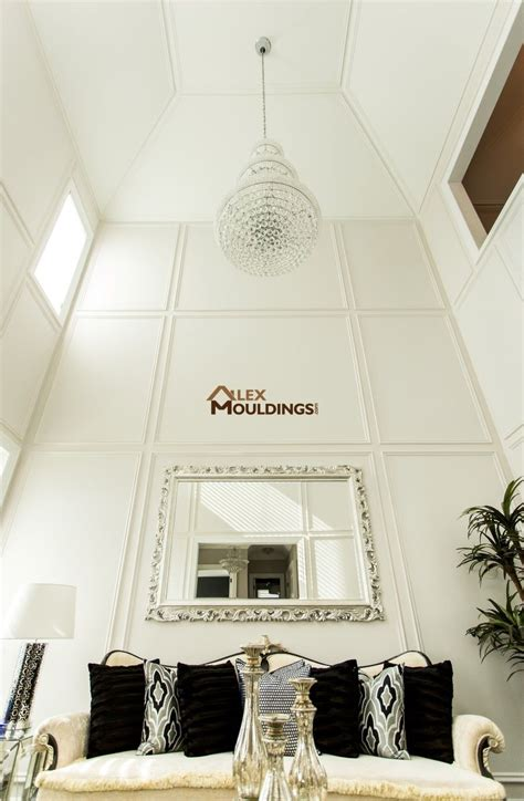 Wainscoting On Ceiling by Vaulted Ceiling With Designed Walls Wainscoting