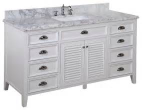60 Vanity Single Sink 60 In Single Sink Bath Vanity Carrara White