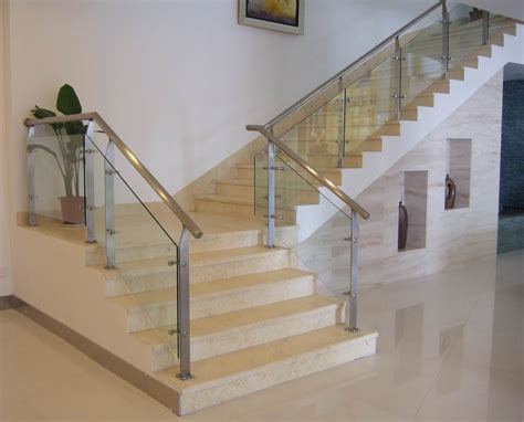 stainless steel banister stair railing in san diego for for both commercial and