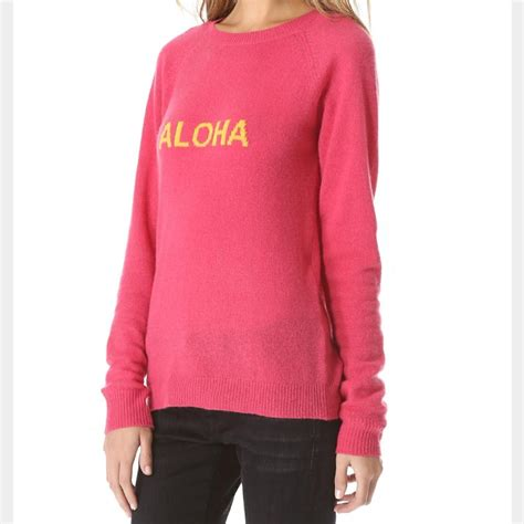 New Sweater Haloha trovata birds of paradis aloha sweater on tradesy