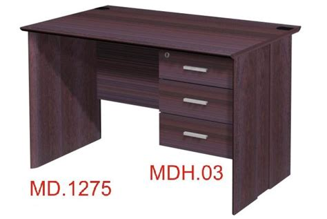 Meja Kayu Setengah Biro meja kantor daftar harga jual alat kantor jakarta