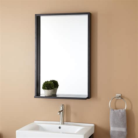 black mirror for bathroom kyra vanity mirror black bathroom