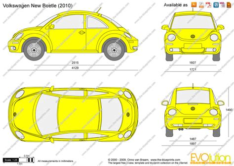 volkswagen drawing the blueprints com vector drawing volkswagen new beetle