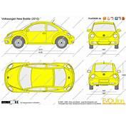 The Blueprintscom  Vector Drawing Volkswagen New Beetle