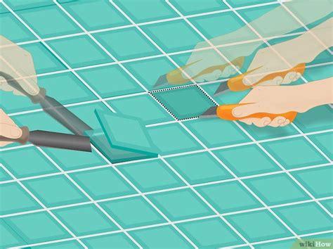 rimuovere piastrelle come rimuovere le piastrelle bagno 6 passaggi