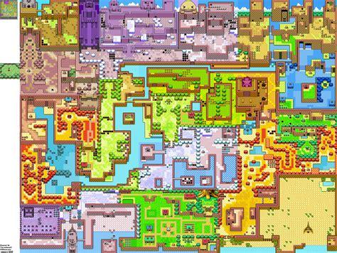 legend of zelda gameboy map polyfeucht gameboy maps