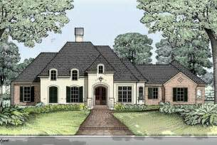 house plans 2631 square feet french country home style