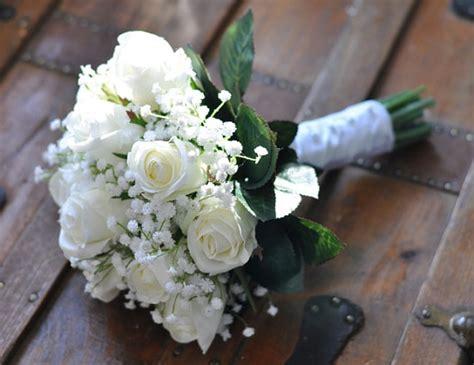 Wedding Bouquet White Roses by Wedding Flowers Wedding Bouquet Keepsake Bridal Bouquet