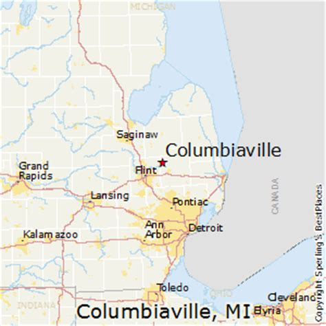 best places to live in columbiaville, michigan