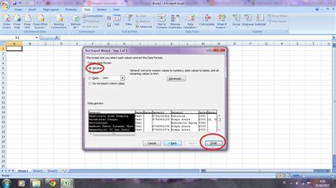 format csv ke excel cara membuka format csv yang tidak bisa di baca dengan