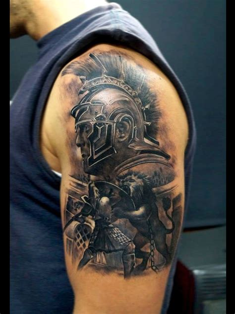 gladiator armor tattoo gladiator 3d tattoos gladiator