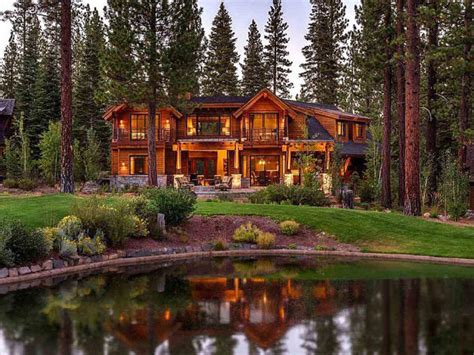 luxury log cabin homes 5 luxury homes for sale near hgtv dream home gt gt http www