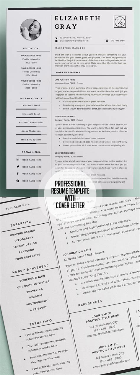 50 Best Resume Templates For 2018 Design Graphic Design Junction Best Modern Resume Template