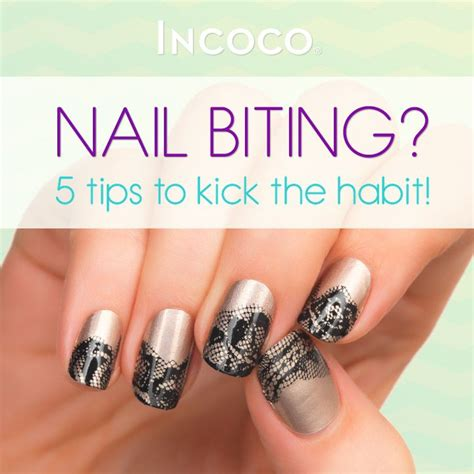 Quit The Nail Biting Habit by Quit Nail Biting And Grow Beautiful Nails With