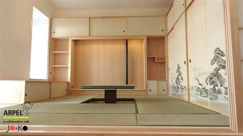 armadi giapponesi esempio di arredamento su misura con pareti shoji foto