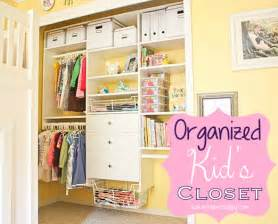Organized kids closet ask anna