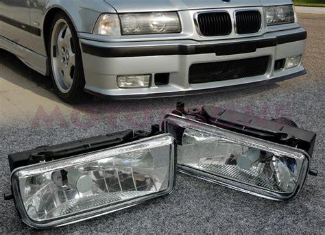 bmw e36 fog light bracket 92 98 bmw e36 front bumper fog light clear