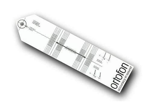 printable vinyl protractor ortofon cartridge alignment protractor