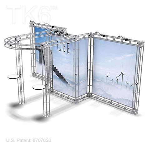20 Tk Stel Kode 9831 ubj 10ft x 20ft box truss trade show display booth frame