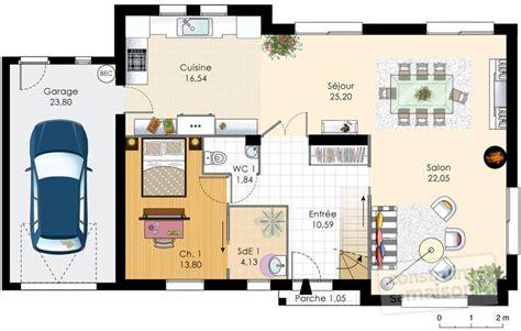 Maison Familiale Plan by Maison Familiale 5 D 233 Du Plan De Maison Familiale 5