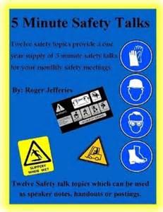 Minute safety talks by roger jefferies ebook lulu