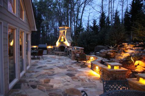 Atlanta Outdoor Lighting Outdoor Lighting Patio Fireplace Landscaping Atlanta