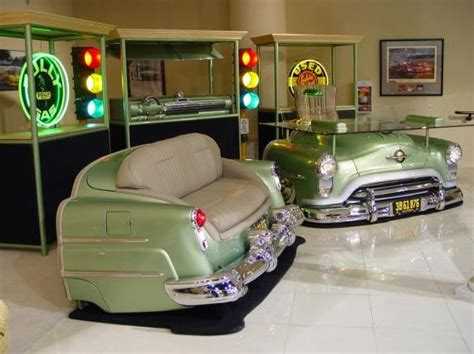 35 clever ideas for using car parts as home decor