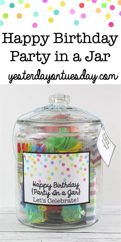 Im Nuts About You  Ee  Gift Ee   In A Jar Yesterday On Tuesday