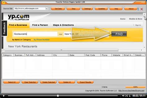 Lookup Yellow Pages Yellow Pages Spider Search Tool To Find Important Information