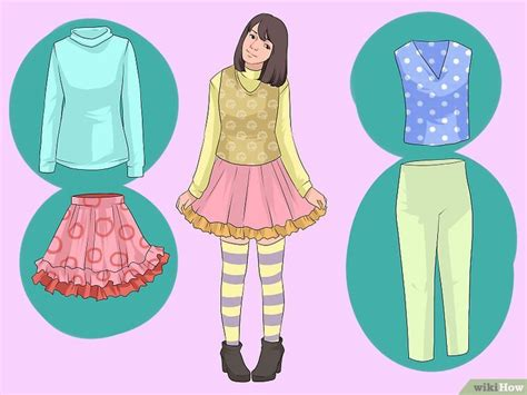 imagenes de ropa kawai come essere kawaii 16 passaggi illustrato wikihow