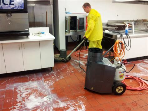 how to clean kitchen floor commercial kitchen steam cleaning services md va dc