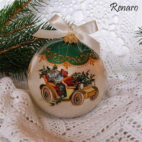 118 best decoupage christmas balls images on pinterest