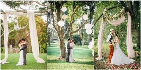 Wedding Backdrop Trees by 18 Stunning Tree Wedding Backdrop Ideas For Ceremony