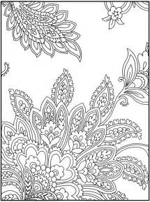 paisley color coloriage on coloring books dover