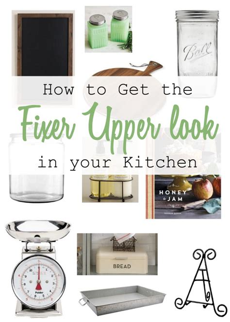 how to get the fixer upper look in your home jenna burger how to get the fixer upper look in your kitchen my