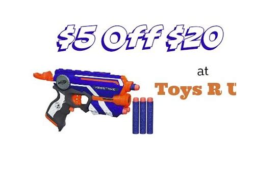 nerf coupons toys r us