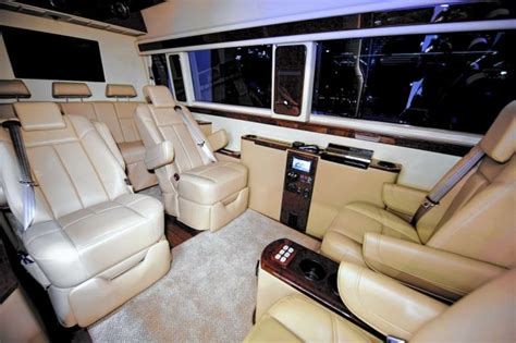 Mercedes Sprinter Custom Interior by Luxury Mercedes Sprinter Is Ride For Beyonce