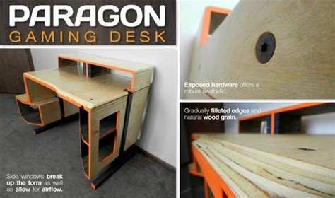 Spectacular Design Of Use Gaming Computer Desk Paragon Gaming Desk