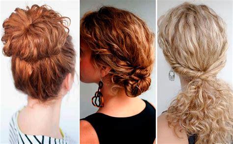 11 peinados casuales para cabello corto peinados cabello rizado archives fiufiu
