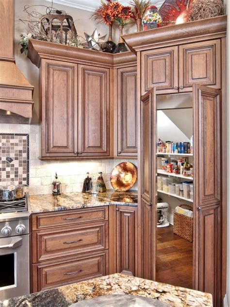hidden walk  pantry houzz