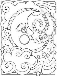 moon coloring pages for adults moon coloring pages for adults images