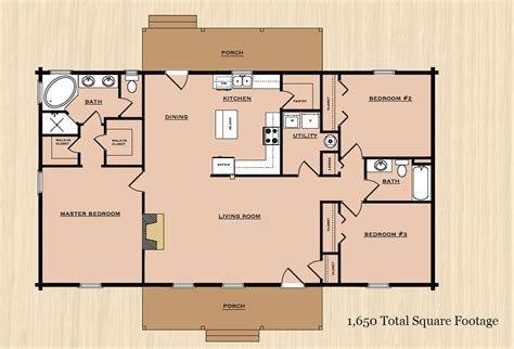 country style open floor plans 2100 square foot open floor plans