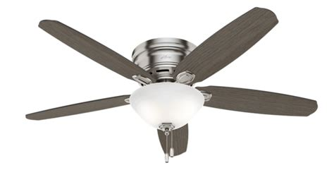 Ceiling Fan Only Works On High Speed by 52 Quot Brushed Nickel Chrome Ceiling Fan Barden 52257