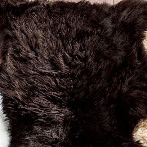 large sheepskin rug brown large sheepskin rug