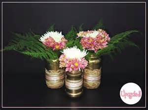 turn your jam jars into beautiful flower vases tinuke
