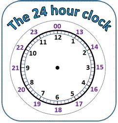 printable 24 hour clock conversion source quoteko blank face