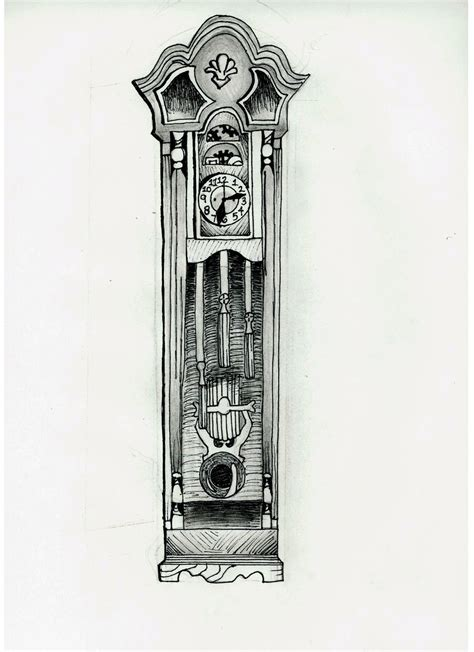 grandfather clock tattoo designs grandfather clock by southernbell218 on deviantart